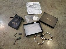 QVC HONORA Cultured Freshwater Pearl Stretchable Bracelet Set NOS