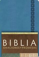 RVC Biblia Oraciones y Promesas - Azul Cobalto simil piel (Spanish Edition)