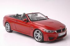 BMW M4 Cabrio car model in scale 1:18 Sakhir orange