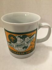 Boy Scout 16th World Jamboree Mundial 1987-88 Australia Commemorative Mug Cup
