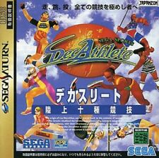 USED DecAthlete   SEGA SATURN JAPANESE IMPORT