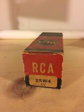 Rca 25W4Gt Electronic (Vacuum) Tube (Nos) Original Box