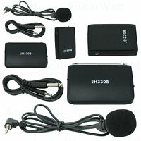 2x EMB JH3308 Professional Wireless Overhead Microphone w/ Transmitter, Receiver