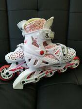 Roller Derby Tracer Adjustable Inline Skates Girls Size 2-5 Pre-owned