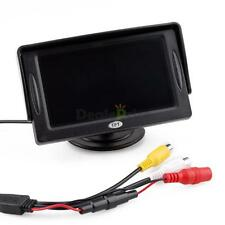 """12V 4.3"""" TFT LCD Car/Truck Reverse RearView Color Monitor Screen For DVD,VCD,STB"""