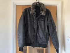 4BIDDEN MA2 BLACK CAMO JACKET - Size XL