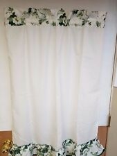 "Green Ivy 36"" Tiers curtain"