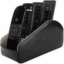 MoKo Leather TV Remote Controller Holder Desktop Caddy Organizer 5 Compartments