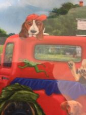 Basset Hound & Country Pups Garden Flag Beagle Pug Bulldog & Others Cute!