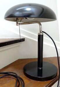 Alfred Müller Quick 1500 Amba Basel  Swiss  Desk / Table Lamp ~Bauhaus ~Art Deco