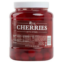 Maraschino Cherries 1/2 Gallon (choose With stems, crushed or halves below)