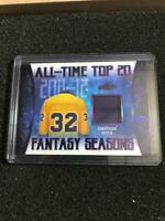2019-20 LEAF ITG USED HOCKEY ALL-TIME TOP 20 RELIC #9/12 KINGS Jonathan Quick