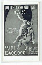 FUTURISMO - SIRONI MARIO - LOTTERIA PRO MUTILATI DEL VISO - MILANO - 1924