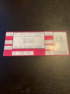 The Tubes Full Concert Ticket 1983