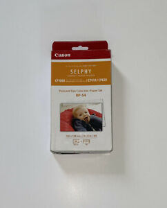 Canon RP-54 Color Ink/Paper Set, Compatible with SELPHY CP910/CP1200/CP1300 U.S.