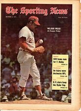 Sporting News 10/2/1971 Baseball magazine, Wilbur Wood, Chicago White Sox ~ Good