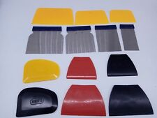Car Painting Tool Set Squeegee Putty Scraper Auto Body Plastic Filler Spreader