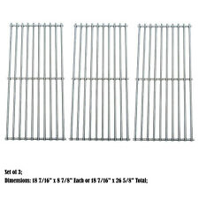 Solid Stainless Steel Cooking grids Replacement for Char-broil and Kenmore grill
