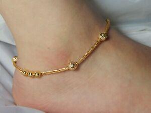 Anklet Foot Chain Ankle Bracelet, Pazaib Gold Colour