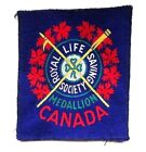 RARE Royal Life Saving Society Medallion Canada Patch