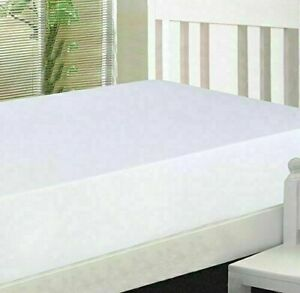 100% Cotton Fitted Sheet Bed Cover 200 Thread Count Single Double King Sheet