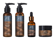 Re Retinol Complete Skincare Set - Perfect Skin Daily Routine Value - 4Pack