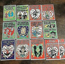 1960 Topps Funny Valentines 13 cards  12 different
