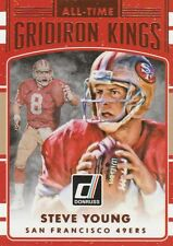 2016 DONRUSS FOOTBALL STEVE YOUNG QB 49ERS HOF #9 ALL-TIME GRIDIRON KINGS