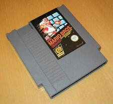Nintendo NES 8 Bit PAL-A UKV spel game SUPER MARIO BROS 1 brothers cart
