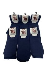 Top Sox Multi-Sport Tube Socks Navy Size 7-9 6pk NEW
