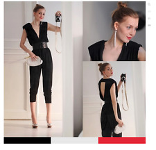 JIMMY CHOO FOR H & M Punge Neck Jumpsuit Size EUR 38, US8  - Wow !!