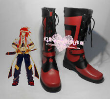 TALES OF THE ABYSS Luke fone Fabre Halloween Long Cosplay Shoes Boots H016