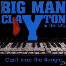Big Man Claytom & The 44`s Can`t Stop The Boogie 1993 Hot Fox Records CD