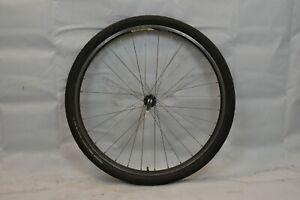 """Alexrims ACE-18 Front 26"""" Bike Wheel & Hub Black OLW100 17mm 32S AV USA Charity!"""