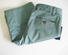 Polo Ralph Lauren Boys Chino Shorts Hampton Green Sz 6 - NWT
