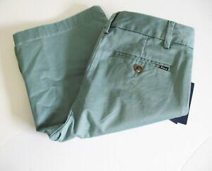 Polo Ralph Lauren Boys Chino Shorts Hampton Green Sz 14 - NWT