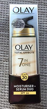 **OLAY Total Effects 7-in-1 Anti-ageing Moisturiser + Serum DUO SPF 20 / 40 ml**