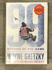 """WAYNE GRETZKY BOOK - """"99 STORIES OF THE GAME"""" - AUTOPEN SIGNATURE"""