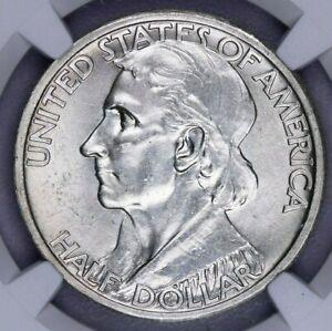 1935-P 1935 Boone Silver Commemorative Half Dollar 50c NGC MS 63