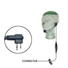Klein Razor Lightweight Headset for Motorola 2-Pin Two Way Radios