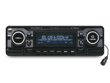 Caliber RCD120BT/B Retro Style BLACK Car CD Player Bluetooth USB SD FM Aux In