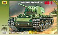 Zvezda Model 3539 Soviet Heavy Tank KV-1 Scale 1/35