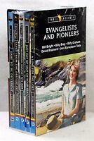 NEW Evangelists and Pioneers Trailblazers Set of 5 Vol 1 Billy Graham Joni Tada