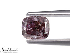 Fancy Dark Brown Purple Natural Color 2.04ct carat Loose Diamond GIA certificate