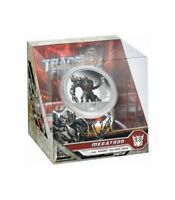 TUVALU 2009 1$ TRANSFORMERS MEGATRON 1 OZ PROOF SILVER COIN LIMITED MINTAGE