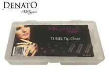 Tunel Tips Clear 500pcs UV LED Gel Nail Art High Quality Flexible Tips Denato UK