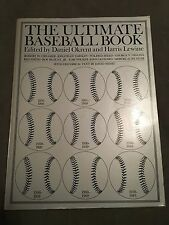 Great Vintage Baseball PB Book-ULTIMATE BASEBALL BOOK 1876-1983 HOF Babe Ruth