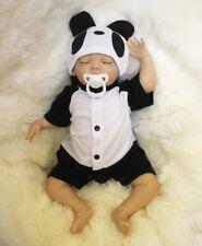 Real Sleeping Boys Reborn Baby Doll 18 Inch Soft Silicone Vinyl Child Xmas Gift