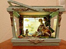 LED Laterne Diorama Dollhouse Fete galante Rokoko Miniatur 1/12 Akzent-Lampe