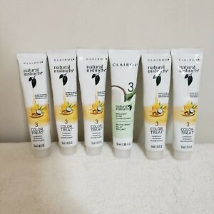 Clairol Natural Instincts Lot of 5 Step 3 Color Treat Conditioner 1.85oz NEW